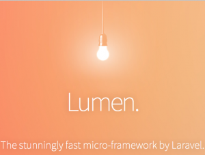 Lumen - The stunningly fast micro-framework by Laravel
